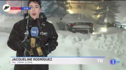 La accidentada conexión en pleno directo de 'El Telediario TVE': ha sido de todo menos