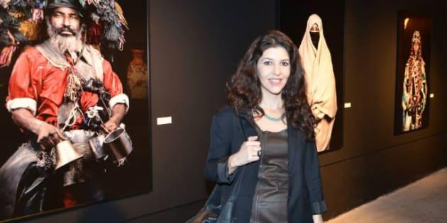 Leila Alaoui en février 2015.