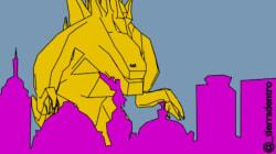 Godzilla vs. la inseguridad en CDMX