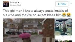 Elderly Man's Instagram Account Goes Viral For All The Right