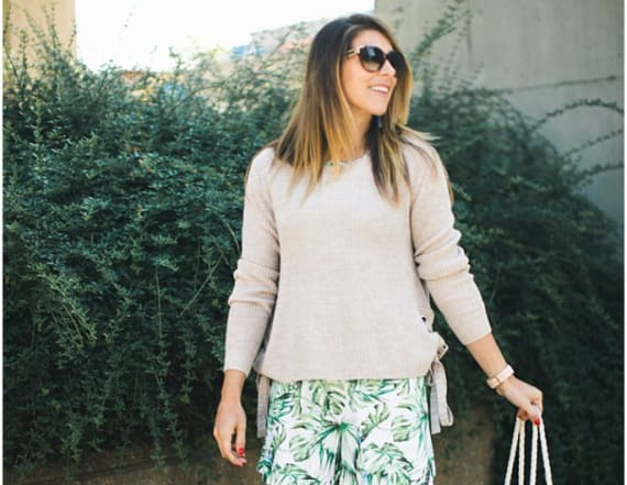 Street style tip of the day: Summer sweater