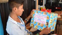 Su primer pastel de cumpleaños lo volvió popular, esta es la realidad de