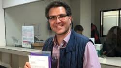 Ríos Piter presenta su registro ante el