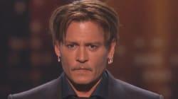 Le discours ému de Johnny Depp en recevant son trophée aux People's choice