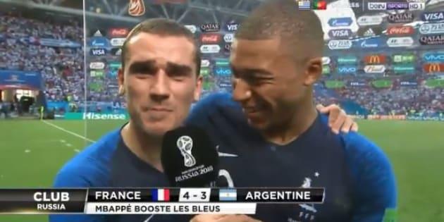 France-Argentine à la Coupe du Monde 2018: la réaction républicaine d'Antoine Griezmann après la qualification des Bleus