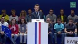 Macron accuse le FN d'avoir voulu empêcher son meeting à