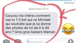 La gaffe de la maman de Karine Le Marchand pour son anniversaire