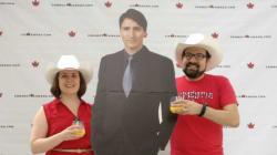 Canada Bans Diplomats From Using Life-Size Justin Trudeau Cutouts At