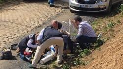 Un jeune coureur belge fait une lourde chute lors de Paris-Roubaix, son pronostic vital est