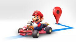 Mario fait le trajet avec vous... dans Google