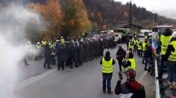 30 grenades lacrymogènes tirées près du tunnel du Mont-Blanc pour déloger des gilets
