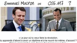 OSS117 ou Macron? Jean Dujardin profite de la parodie du président avec l'adolescent pour vous proposer un
