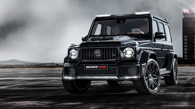 Brabus 800 Widestar Takes A G Wagen To A New Level 789