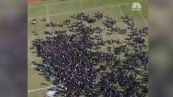 Des dizaines de milliers d'élèves américains quittent simultanément leur classe contre les armes à