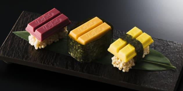 Kit Kat lance une édition limitée inspirée des saveurs des sushis.