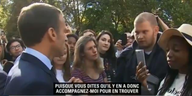 """L'horticulteur au chômage répond à Macron: """"Il est dans le monde des Bisounours"""""""
