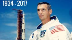 Gene Cernan, le dernier homme à avoir marché sur la lune est