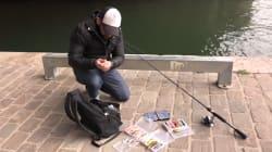 Il y a des gens qui pêchent en ville, et ils ont des codes bien à
