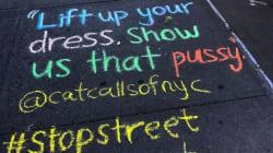 Questi gessetti colorati nelle strade di Nyc stanno rivoluzionando il modo di affrontare le