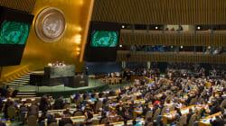 トランプ米大統領は、国連の何の交渉過程から抜けたの?