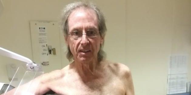 Ce que ça fait d'être un homme quand on a un cancer du sein.