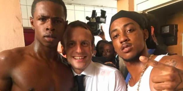 Le jeune braqueur photographié avec Macron condamné