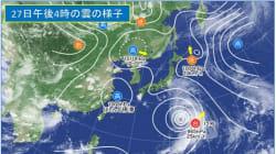 台風12号、速度を上げて週末列島直撃