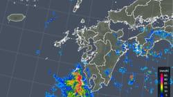 台風12号 九州の西で停滞、影響長引く