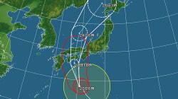 台風20号、夜に四国・近畿へ上陸(8月23日の天気)
