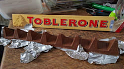 Le Toblerone anglais a-t-il perdu un triangle à cause du