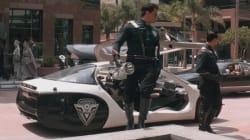 Ford a imaginé une voiture de police autonome qui vous course automatiquement après un excès de