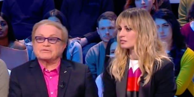 """L'actrice italienne Sveva Alviti victime d'une crise d'épilepsie en direct au """"Grand Journal"""" de Canal+."""