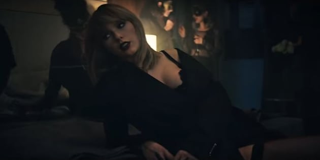 "Taylors Swift en sous-vêtements pour ""I don't wanna live forever"""