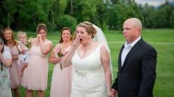 La sorpresa più bella nel giorno del suo matrimonio: la sposa conosce il ragazzo vivo grazie al cuore di suo