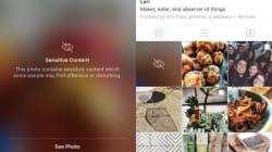 Instagram jette le flou sur les photos