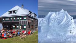 Ce refuge de montagne a littéralement disparu sous la neige en