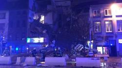 Un immeuble soufflé par une explosion en Belgique, la piste terroriste