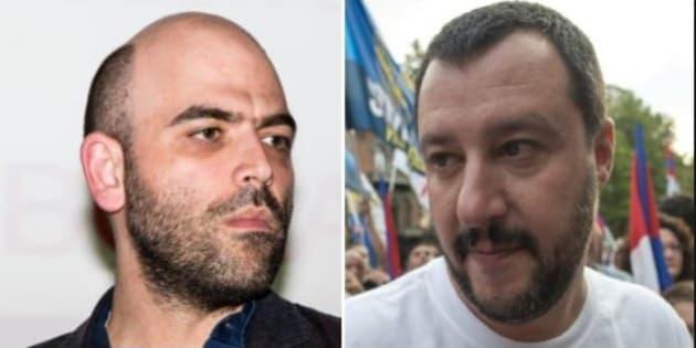 """""""Una carezza e una querela"""". Salvini replica così"""