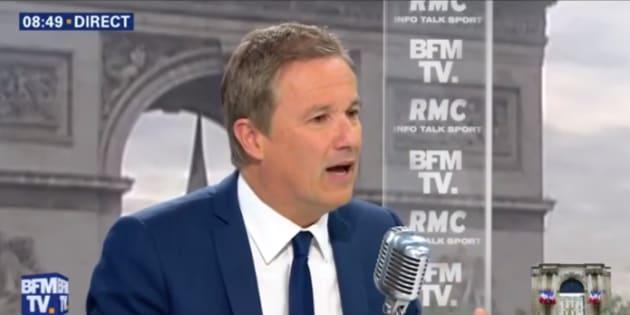 """Législatives 2017: Dupont-Aignan, candidat à sa succession, présentera des candidats """"partout"""""""