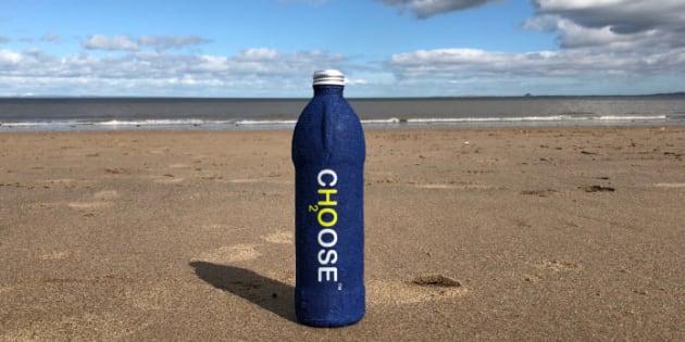 Cette nouvelle bouteille 100 % biodégradable pourrait sauver les océans.