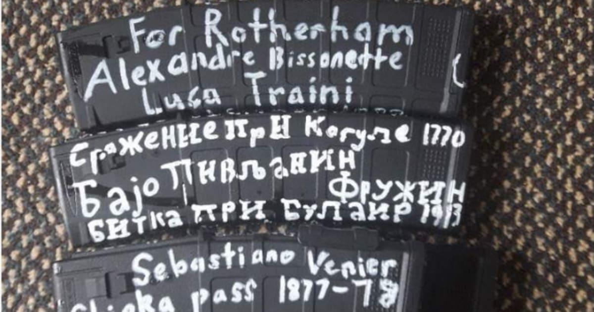 Attentato in Nuova Zelanda, sui caricatori delle armi il nome di Luca Traini