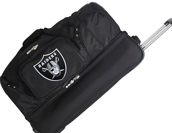 Show your fandom worldwide with team-branded luggage