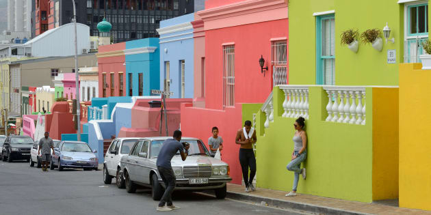 The Bo-Kaap in Cape Town.