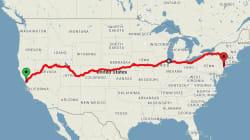 Le meilleur itinéraire en train pour voir les plus belles choses aux États-Unis et pour 200