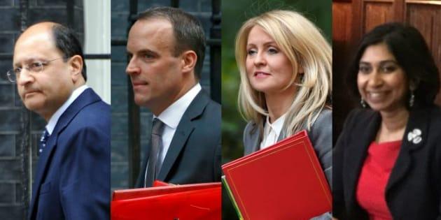 Shailesh Vara, Dominic Raab, Esther McVey et Suella Braverman ont annoncé leur démission du gouvernement de Theresa May ce 15 novembre.