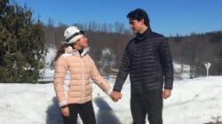 Pour la journée de la femme, l'épouse de Trudeau appelle à célébrer... les