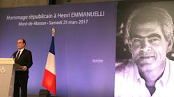 L'hommage de Hollande à Emmanuelli: