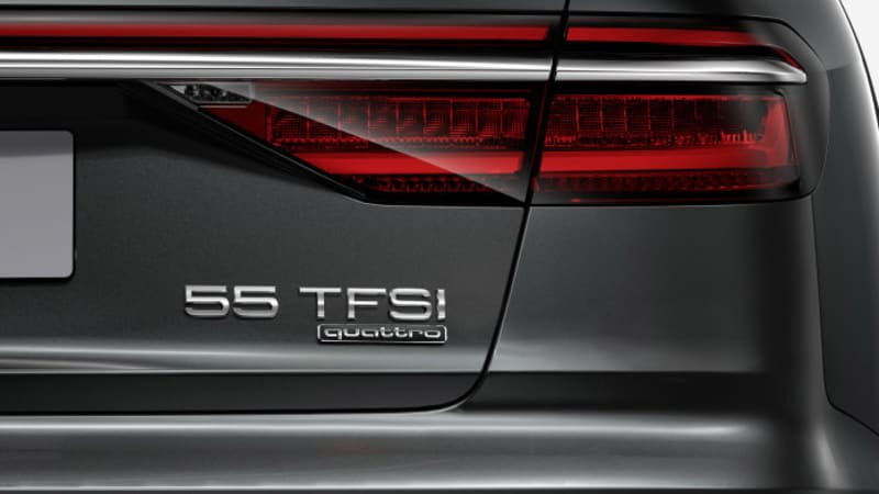 Audi's new naming system not coming to America