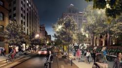 Montréal: place au piéton sur la rue
