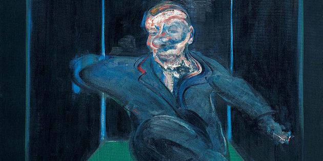 Francis Bacon - Sitzende Figur, 1960
